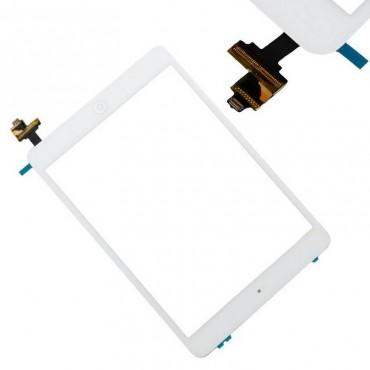 tactil iPad mini / iPad mini 2 branco com conetor ic