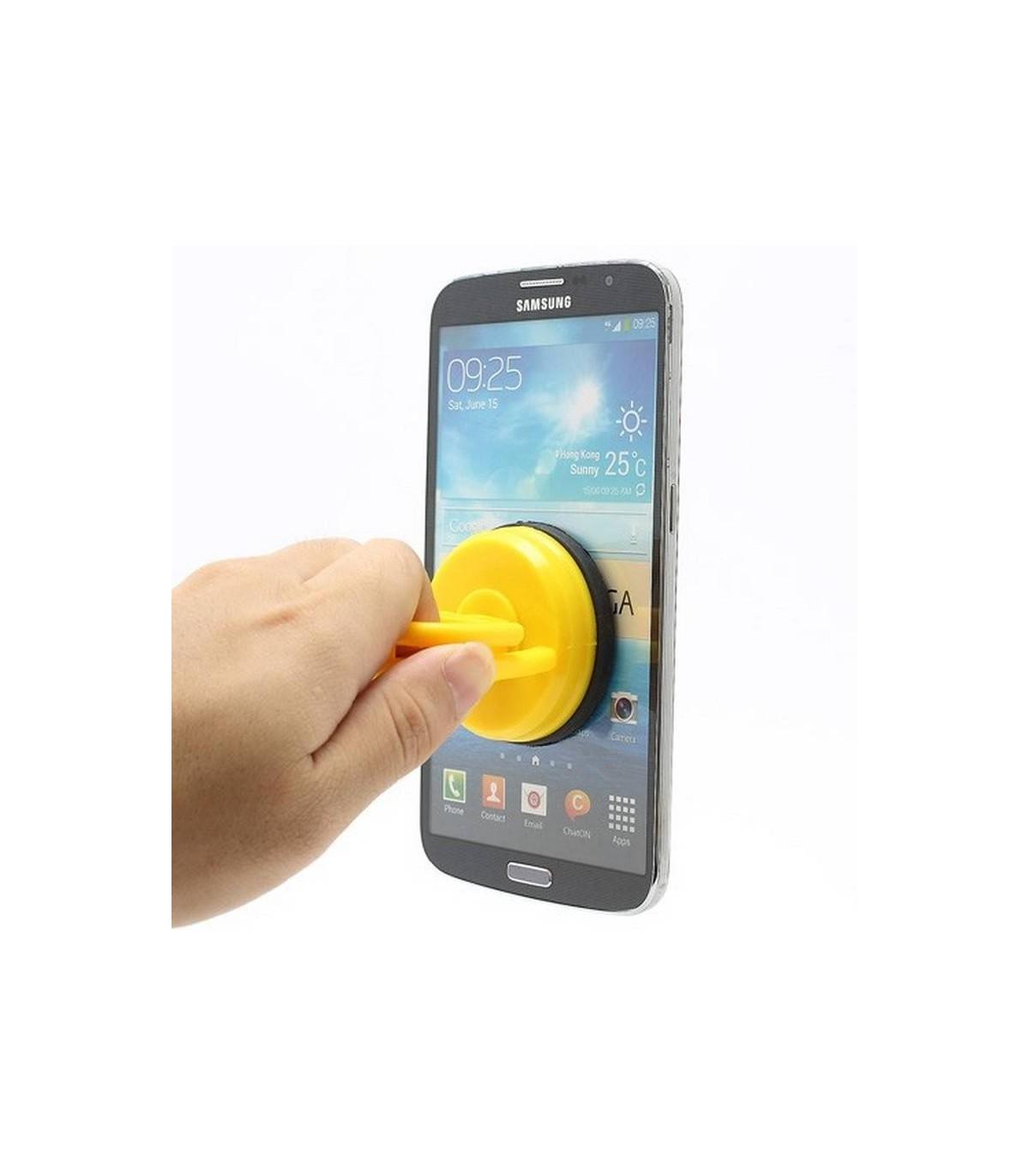 Herramienta para el extractor del vidrio en color amarillo. Tamaño 5,8 x 6,5cm