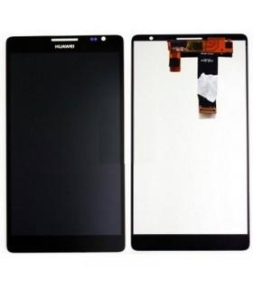 Pantalla completa negra para Huawei Ascend Mate, MT1-U06 ORIGINAL