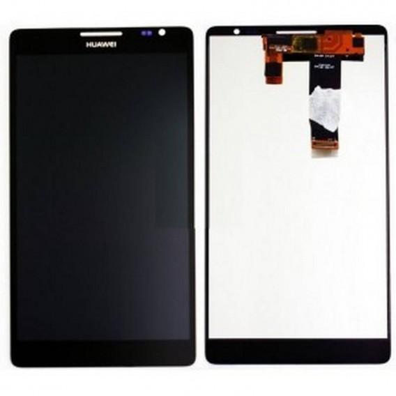 Ecrã completa preta para Huawei Ascend Mate, MT1-U06 ORIGINAL