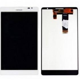 Ecrã completa branca para Huawei Ascend Mate, MT1-U06 ORIGINAL