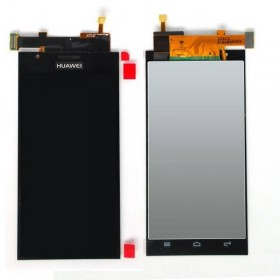 ecrã completa Huawei Ascend P2 preta