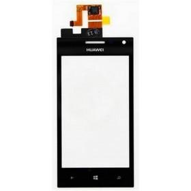 Ecrã Táctil Huawei Ascend W1 preta