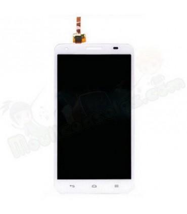 Pantalla Completa Huawei Honor 3X G750 blanca
