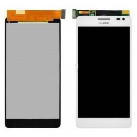 Ecrã completa Huawei Ascend D2 branca