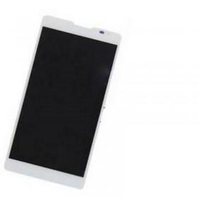 Pantalla completa Huawei Ascend Mate 2 blanca