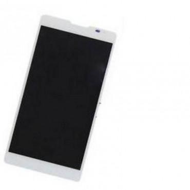 Ecrã completa Huawei Ascend Mate 2 branca