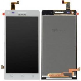 Pantalla completa Huawei Ascend G6 3G Orange Gova blanca