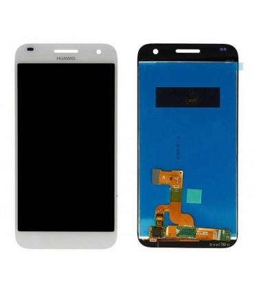 Pantalla Completa Huawei Ascend G7 blanca