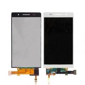 Pantalla completa Huawei Ascend P6 blanca