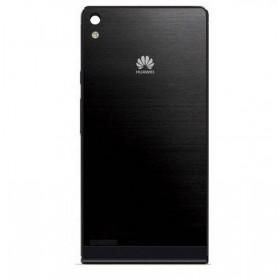 Tapa Traseira Huawei P6 em cor preto,