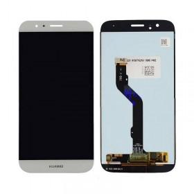 Pantalla completa Huawei G8 color blanca