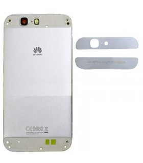 Carcaça Tapa Traseira Huawei Ascend G7 cinza