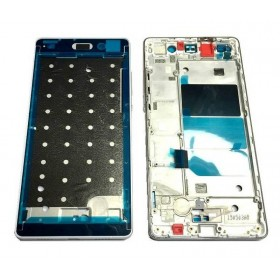Carcasa Frontal Huawei Ascend P8 Lite blanco
