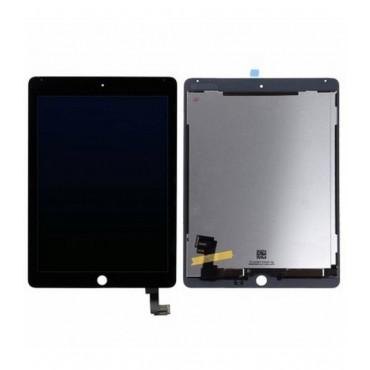 Pantalla completa LCD/display, ventana tactil y digitalizador color negro para Apple iPad Air 2