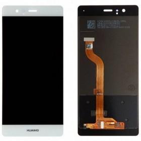Pantalla completa para Huawei P9 blanca