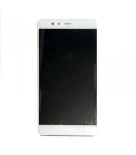 Ecrã completa com marco para Huawei P9 Plus branca