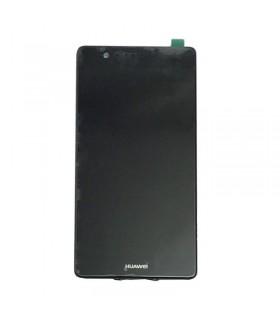 Ecrã completa com marco para Huawei P9 Plus preta