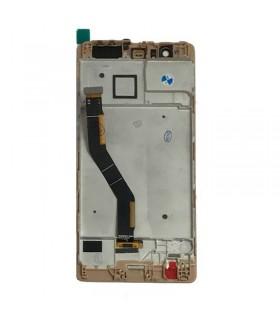 Pantalla completa con marco para Huawei P9 Plus Dorada