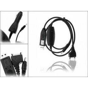 Nokia CA-70 cable datos USB y cargador USB para N92 N90 N80 N71 N70 E70 E61 E60 9500 9300i 9300