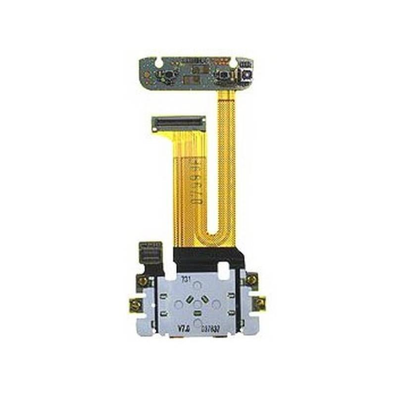 cable flex N81 con membrana teclado y camara