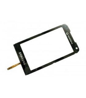 Pantalla Táctil, Touch Screen, Ventana de Carcasa con Digitalizador en color Negra samsung I900