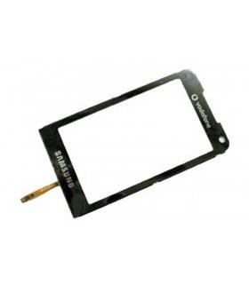 Ecrã Táctil, Touch Screen, Ventana de Carcaça com Digitalizador em cor Preta samsung I900
