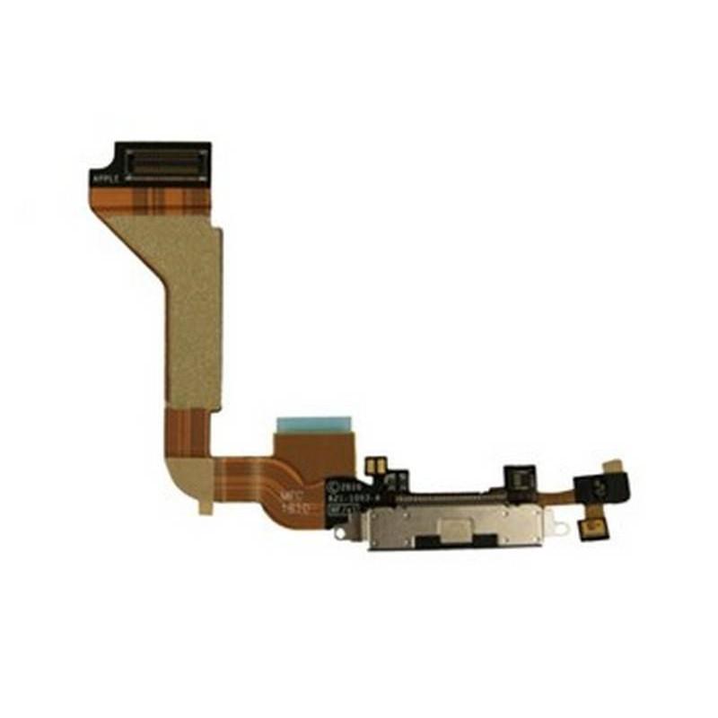 conector de carga iphone 4 negro