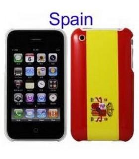 carcaça , iPhone 3G 3Gs , BANdeRA de ESPAÑA