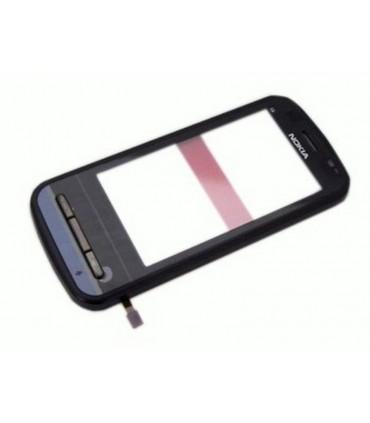 Nokia C6-00 carcaça frontal preta + ecrã digitalizadora, ORIGINAL