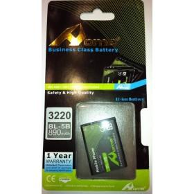 Bateria para Nokia BL-5B 3220, 5140, 7260, 3230, 6020, N80 bateria (BL5B)