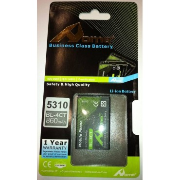 Bateria para Nokia 5310 Xpress Music, X3, 6600 Fold, 7210 Supernova, 7310 Supernova bateria BL-4CT DE LARGA DURACIÒN