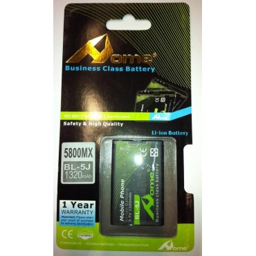 Nokia 5800 bateria BL-5J 1320 M/AH de larga duracion
