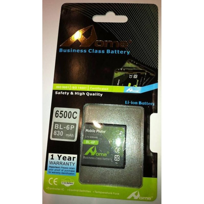 bateria para Nokia bateria BL-6P 6500c, 7900 PRISM (BL6P)