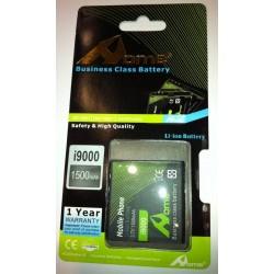 Samsung i9000 Galaxy S, 1500m/Ah LI-ION DE LARGA DURACION