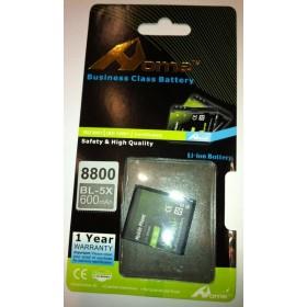 Nokia 8800 bateria BL-5X 600M/AH de larga duracion
