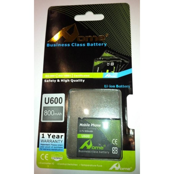 Samsung U600, E840, X820, D830 800m/Ah LI-ION DE LARGA DURACION