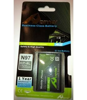 Nokia E61, E90, N97 BP-4L ,1500m/Ah LI-ION de LARGA DURACION