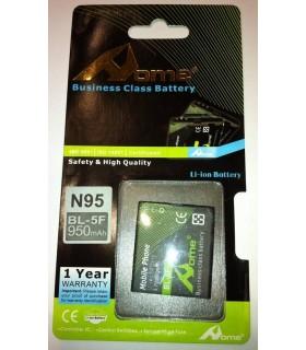 Nokia E65, N95, N93i, N96, 6210 BL-5F 950m/Ah LI-ION DE LARGA DURACION