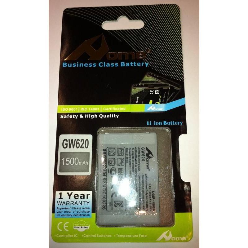 LG GM750 GW620 Etna, GW800, GW820 eXpo, GW880 OPhone 1500m/Ah LI-ION DE LARGA DURACION
