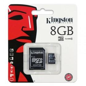 Tarjeta microSD de 8 GB (clase 4, clase) de Kingston