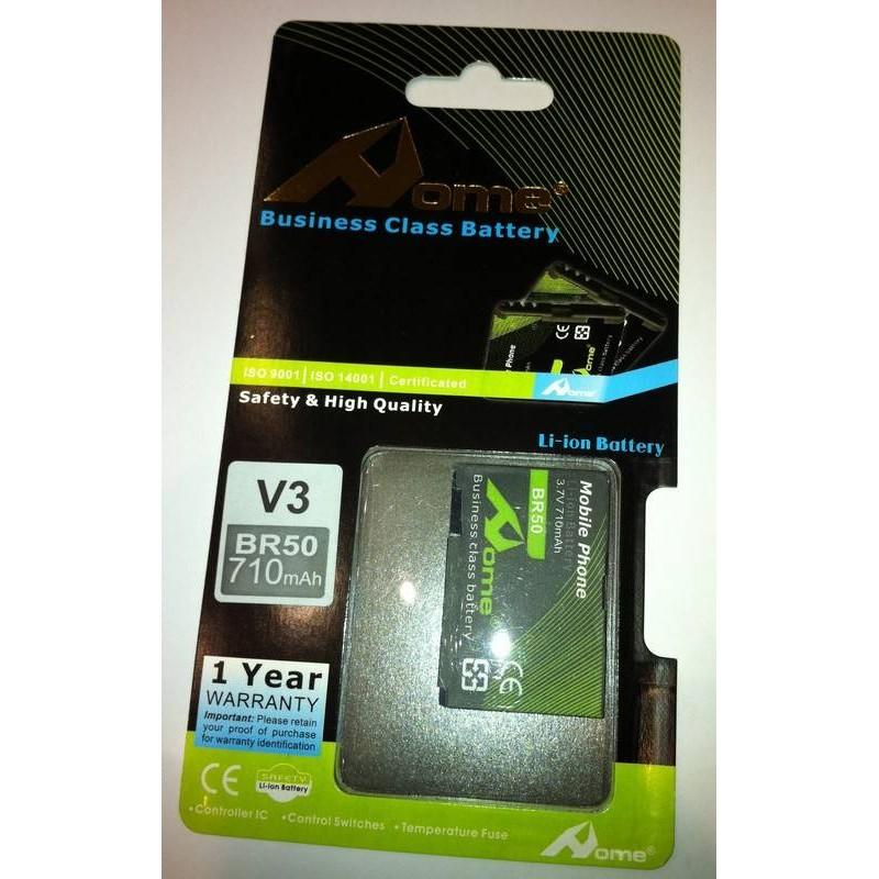 Motorola V3, V3i, V3R, U6 BR50 710m/Ah LI-ION DE LARGA DURACION