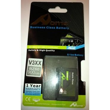 Motorola V6 bateria BZ60 900m/Ah LI-ION DE LARGA DURACION