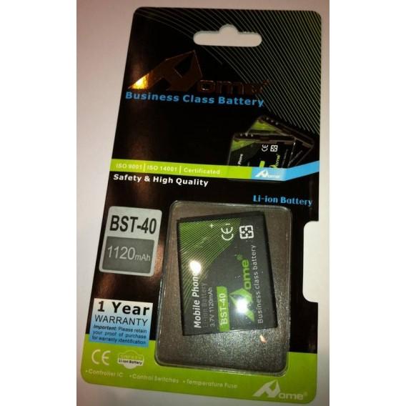Sony Ericsson P1 BST-40 1120m/Ah LI-ION DE LARGA DURACION