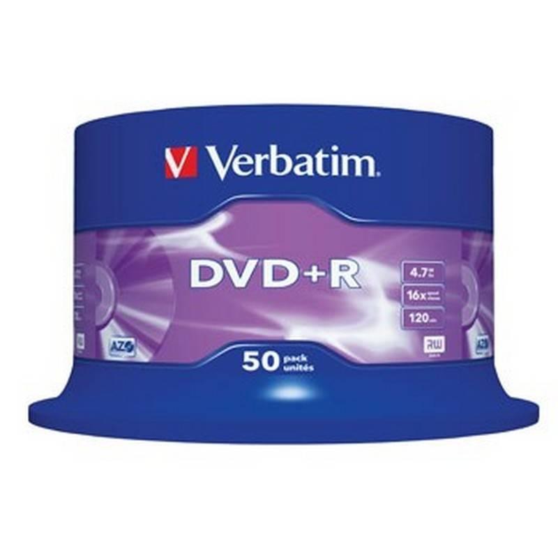 50 DVD +R VERBATIM original