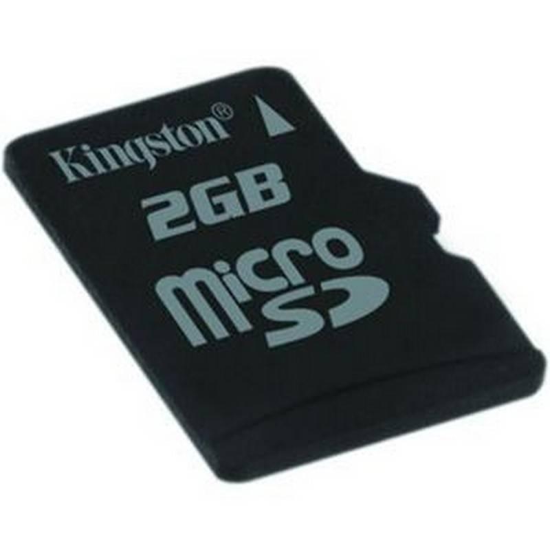 Tarjeta De Memori MICRO SD 2GB KINGSTON ORIGINA+L