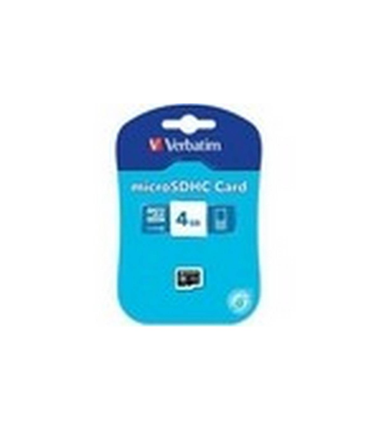 Tarjeta De Memoria MICRO SD 4 GB VERBATIM ORIGINAL