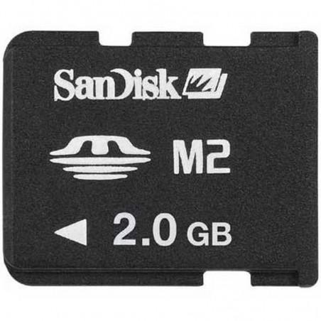 Tarjeta De Memoria M2 2GB SANDISK ORIGINAL