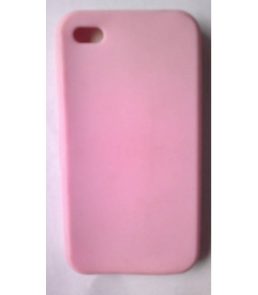 Funda de silicona iphone , rosa