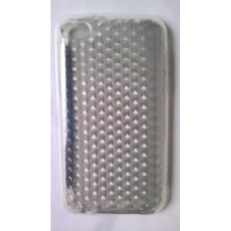Funda de silicona ipod touxh 4 gris